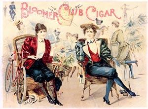 1890年代ブルマ姿の女性